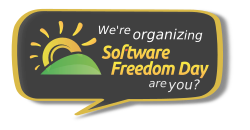software freedom day banner